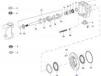 Сальник бортовго редуктора моста — 35125400