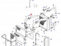 Патрубок интеркулера двигателя Sisu Diesel — 34040400