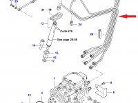 Комплект топливных трубок двигателя Sisu Diesel — 836873034