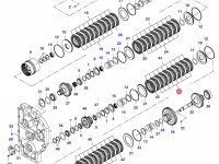 Диск фрикционный узла DPS — 35015200