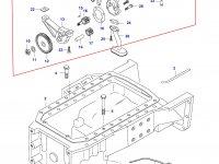 Масляный насос двигателя Sisu Diesel — 836129413