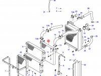 Интеркулер двигателя Sisu Diesel — 34015010
