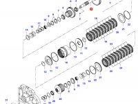Вал узла переключения передач КПП — 35029600
