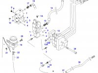 Тормозной цилиндр трактора — 31071400