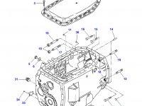 Картер КПП трактор Challenger — 903100050021