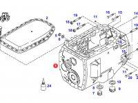 Картер КПП трактора Fendt — 903100050022
