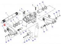 Правый рычаг навески для тракторов Challenger — 903860030010