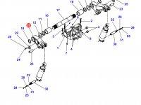Правый рычаг навески для тракторов Challenger — 903862030011