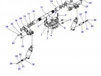 Левый рычаг навески для тракторов Challenger — 903862030021