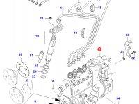 Топливный насос высокого давления (ТНВД) двигателя Sisu Diesel — 836740392