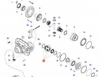 Комплект фрикционных дисков дифференциала моста — 35854900