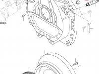 Задний сальник коленвала двигателя Sisu Diesel — 836840884