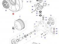 Крыльчатка (вентилятор) радиатора двигателя Sisu Diesel — 836840906
