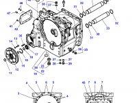 Приводной вал сцепления трактора Challenger — 916100421102