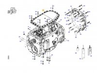 Крышка КПП трактора Massey Ferguson — 916101050060