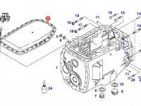 Крышка КПП трактора Challenger — 916101050060