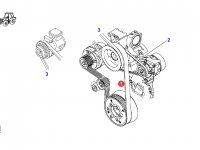 Ремень генератора двигателя трактора Fendt — 916201040200