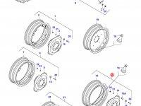 Задний колесный диск - DW15x38 (L39105) — 33214700