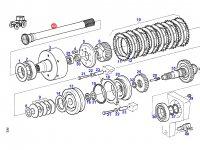 Вал отбора мощности (ВОМ) трактора Fendt — 926102080130