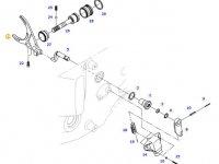 Вилка переключения передач КПП трактора Massey Ferguson — 926103080020
