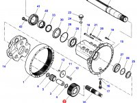 Планетарная (сателлитная) шестерня бортового редуктора заднего моста трактора Challenger — 926150150040
