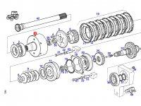 Корпус муфты включения вала отбора мощности (ВОМ) трактора Fendt — 926150220160
