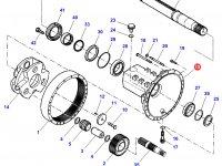 Чулок заднего моста трактора Challenger — 926160150200