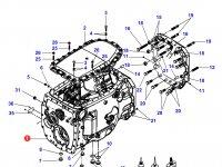 Картер КПП трактор Challenger — 931100052020