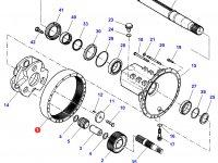 Коронная шестерня бортового редуктора заднего моста трактора Challenger — 931150150030