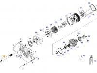 Вал отбора мощности (ВОМ) трактора Massey Ferguson — 934152220350