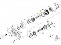 Диск фрикционный муфты ВОМ трактора Massey Ferguson — 934152220480