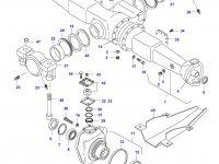 Нижний шкворень трактора — 31793000