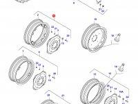 Задний колесный диск - DW14x38 — 30308010