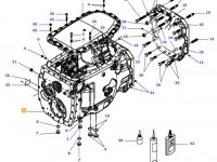 Картер КПП трактора Massey Ferguson — 954100050040