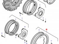 Задний колесный диск - W8x48 — 34582300