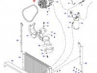 Ремень компрессора кондиционера Valtra — 35354900