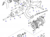 Ремень генератора двигателя Sisu Diesel — 685081315