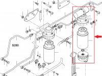 Топливоподкачивающий насос двигателя Sisu Diesel — 836866708