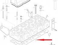 Прокладка ГБЦ двигателя Sisu Diesel — 837070291
