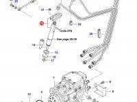 Форсунка двигателя Sisu Diesel — 836854791