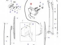 Моторчик щетки стеклоочистителя трактора — 34379600