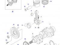 Поршень двигателя Sisu Diesel — 835316177