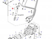Форсунка двигателя Sisu Diesel — 836854940