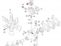 Термостат двигателя трактора (79 градусов) — 836015156