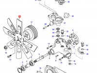 Крыльчатка (вентилятор) радиатора двигателя Sisu Diesel — 836852199