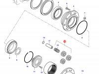 Комплект планетарных (сателлитных) шестерней — 31804400