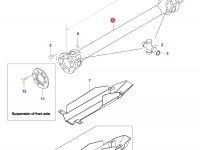 Карданный вал трактора L=1676 D=80 — 36644110