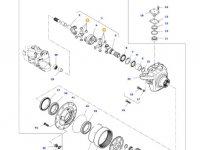 Крестовина приводного(шарнирного) вала бортового редуктора переднего моста тракторов Massey Ferguson (до 01-02-2015) — ACP0243880