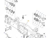 Картер переднего моста трактора Massey Ferguson (подвижный мост) — ACP0279030