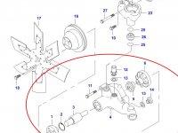 Водяной насос охлаждения двигателя Sisu Diesel — 836647817